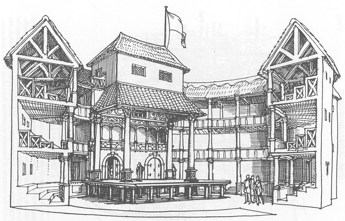 the globe theatre de shakespeare londres comme l. Black Bedroom Furniture Sets. Home Design Ideas