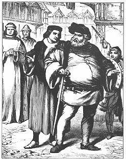 falstaffs role in henry iv by shakespeare King henry iv, part 1 scene 4 table of in which the prince and falstaff play alternate roles the prince of shakespeare's henry iv is at the highest rung of.