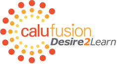 CALU Fusion and D2L Logo